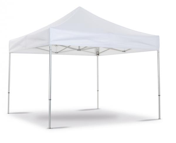 Folding tent white