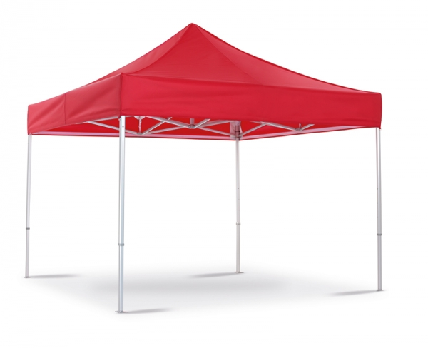 Folding tent red