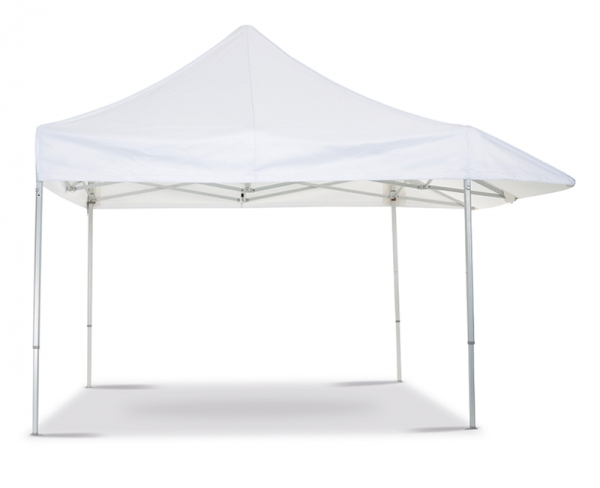 Folding tent with shelter