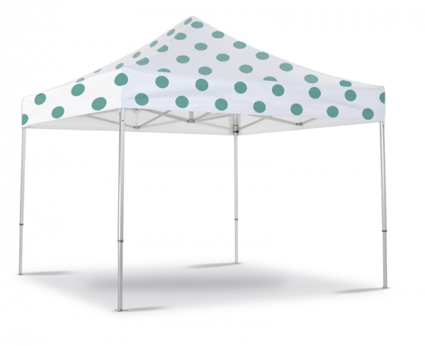 Folding tent totally customizable